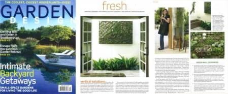 Garden Design Magazien with Vertical Garden I designed with Flora Grubb